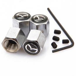 Neumático Rueda de Aleación de plata Jaguar Tapas De Válvula De Polvo