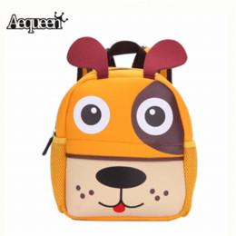 Wholesale Cute Cartoon Dog Backpack - New 3D Cute Animal Design Backpack Kids School Bags For Teenage Girls Boys Cartoon Dog Monkey Shaped Children Backpacks Big Size