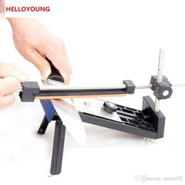 Wholesale Professional Kitchen Cutlery - D072 New Kitchen Professional Fix-angle Sharpening Cutlery Knife Sharpener System Kitchen Accessories