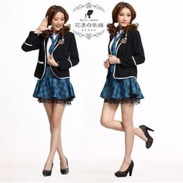 Wholesale School Girl Uniform Anime - College students dress uniform Cosplay Anime school uniforms student Girls coat, just only coat