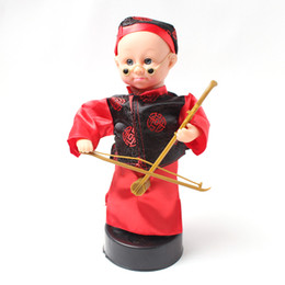 Ücretsiz kargo çocuk elektrikli Erhu oyuncaklar Kör Bing Kostüm küçük çocuk bebek Ses Oyuncaklar müzikal komedi nereden oyuncaklar yoyo tedarikçiler