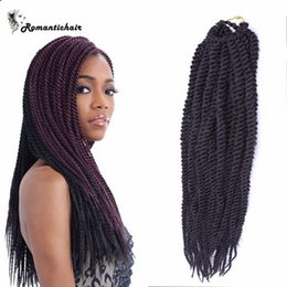 Wholesale Clearance Free Shipping - Clearance!!African Braids 100g pack 3pcs Box Crochet Braids Hair African braids Bundles extensions waves Hot sale free shipping