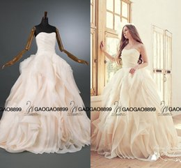 Wholesale Sexy Ivory Corsets - Real Photo Berta 2017 Ruffles Tiered Skirt Ball Gown Wedding Dresses Plus Size Corset Top Strapless Country Garden Wedding Bridal Dress