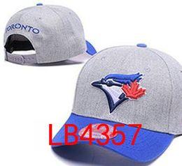 Wholesale Braided Ball - hot sale 2017 Blue Jays hats Men snapbacks Cool Women Sport Adjustable Caps Hats snapbacks Accept Drop ship