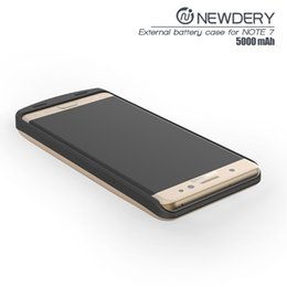 Wholesale Galaxy Note Charger Case - For galaxy note7 power bank 5000mAh battery case mobile battery pohone charger power case for samsung note 7