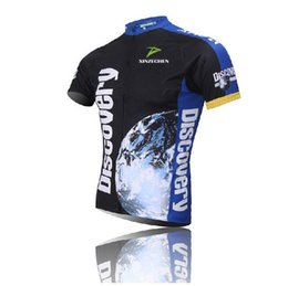 Wholesale Discovery Short - Discovery channel Men's 2016 Team Bicycle jersey Cycling clothing  Bike wear  Cycling jersey Short sleeve Jersey Top