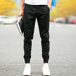 Wholesale Beams Plus - Wholesale-pantalon homme Design Male Trousers Men Jogger Casual Pants Feet Straight Beams Thin Pants Joggings Homme Plus M-2XL HO869541