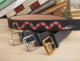Wholesale Mens Waist Belts - 2017 Men's Belts Luxury Pin buckle genuine leather belts for men designer mens belt women waist belts free shipping