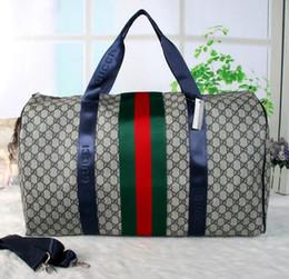Wholesale Messenger Bag Mans - 55CM Brand designer men women luggage handbag Sport&Outdoor Packs shoulder Travel bags messenger bag Totes bags Unisex handbags Duffel Bag