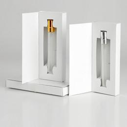 Wholesale Sample Spray Perfume Bottles - 5ML 10ML Glass Bottle Perfume Atomizer Parfum Spray Bottle with Packing Box Cosmetic Sample Vial Refillable Bottles F20172469
