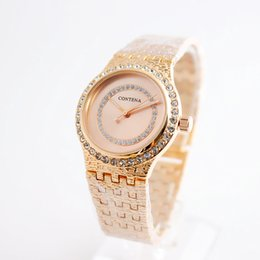 Wholesale Buckle Ring Cheap - CONTENA New Ladies Watch small fresh rings pointer quartz watch cheap