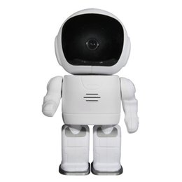 Wholesale Pan Tilt Control - 2016 New Ebest IPC08ZW Robet WiFi IP Camera Onvif 720P HD Smart Home Security P2P IR Pan Tilt Control