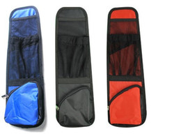 Wholesale Car Back Seat Pocket - Waterproof Car Auto Seat Side Back Storage Pocket Backseat Organizer Bag