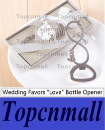 Wholesale Forever Gifts Wedding - Free Shipping Love Forever Bottle Opener Wedding Favors And Gifts Weddings Gifts For Guests Wedding Souvenirs Party Supplies