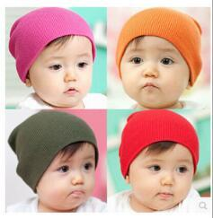 Wholesale Knit Hats For Infant Girls - Toddler Infant Baby Hats Winter Waem Children Soft Cute Knit Warm Kids Hat Beanies Cap for Grls Boys Xmas Gift Hot Sales DHL