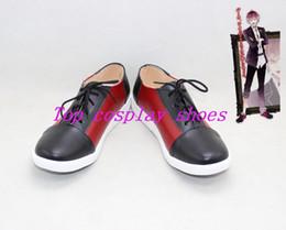 Wholesale Diabolik Lovers - Wholesale-DIABOLIK LOVERS Sakamaki Ayato Cosplay Boots shoes #cos043 Halloween shoes