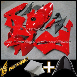 Wholesale Plastic Injection Molded - 23colors+8Gifts for Honda red CBR600RR 05 06 05-06 Fairings 2005 2006 Injection MOLDED ABS Plastic Bodywork Set Fairing