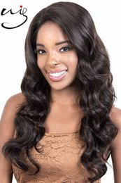 Wholesale Brazilian Remy Hair For Cheap - unprocessed wholesale price cheap remy Indian human hair lace wigs body wave full lace wigs for women