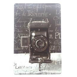 Canada Appareil photo prenant des photos rétro Vintage Metal Tin affiche affiche pour Man Cave Garage autocollant mur minable chic Cafe Bar décor à la maison Offre