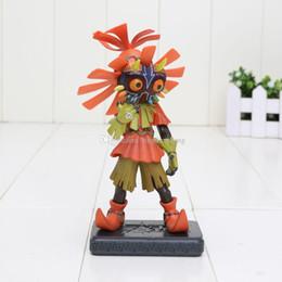 Wholesale Legend Zelda Figures - Majoras Mask Action Figure The Legend of Zelda Action Figure Zelda Majora's Mask Limited Edition w  Skull Kid Figure approx 14cm