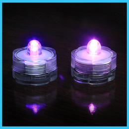 Wholesale Cheap Underwater Led Lights - Submersible led candle White Color underwater LED Submersible Candles led candle tealight Night light Lamp, cheap!