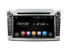 Wholesale Gps For Subaru - 7'' Quad Core Android 5.1 Car DVD Radio For Subaru Legacy Outback 2009 2010 2011 2012 With GPS Stereo Wifi BT Gift