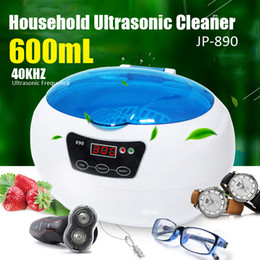 Wholesale Ultrasonic Glasses Cleaner - Household Affordable Smart Digital Ultrasonic Cleaner Stainless Cleaning Machine Tools 0.6L 1.2L 2.5L For Jewelry Glasses Luxury Watch Lens