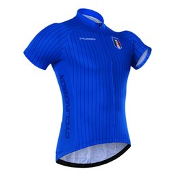Wholesale Bicycle Top Box - 2016 cycling box French European Cup jersey Cycling Bike Short Sleeve Bicycle wear maillo Bicycle Clothing Men Cycling Jersey Top Jersey