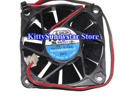 Wholesale Cool Fan 5v - Shicoh ICFAN 6010 F6010AP-05LCW 0610-5 0610-5V 5V 0.18A 2Wire Cooling Fan
