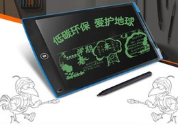"""12 """"Tabletas de escritura LCD para niños Tableros de dibujo sin papel Eco Tablero de tableta portátil ePaper para niños Tableros de escritura de la escuela de jardín de niños desde fabricantes"""