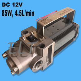 Wholesale Electric Oil Pressure - NEW ARRIVAL High-end Oil Pump Transfer Pump DC 12V 85W Electric Oil Well Pump 4.5L min Used for Gear and Engine Oil