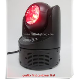 Wholesale Auto Watts - Wholesale- 4lot Stage lighting mini moving head project 60 watt led moving head