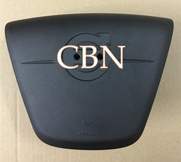 Wholesale Volvo Srs - for Volvo S60 S80 Airbag Cover Driver SRS Steering Wheel air bag with logo Free Shipping