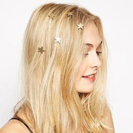 Accesorios directos para el cabello online-Popular estilo caliente pentagrama accesorios para el cabello tipo de edición de Corea estilo caliente venta directa de fábrica de comercio exterior envío gratis