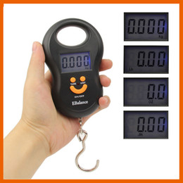 Wholesale Digital Hanging Luggage - Digital Scale Electronic Hanging Fishing Luggage Pocket Portable Digital Weight Scale 20g 40kg With Retail Hanging Portable Scale 03