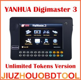 Wholesale Digimaster Full - [YANHUA Distributor] 2016 Original YANHUA Digimaster 3 Digimaster III Odometer Correction Master Unlimited Full Version unlimited Tokens