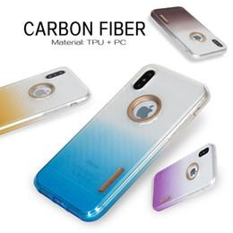 Wholesale Galaxy Change - Armor case For Motorola Moto E4 Metropcs For samsung galaxy J7 prime Metropcs J3 prime Metropcs TPU Carbon Fiber Change Color cover C