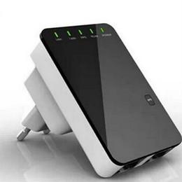 Wholesale Ce Routers - 300 Mbit Hotspot LAN CE WAN Wireless 5 in 1 Repeater Mini Router WPS Wifi WLAN