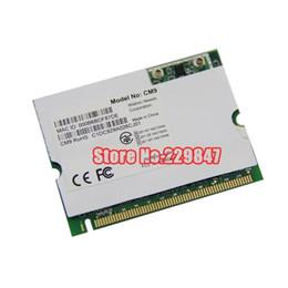 wifi atheros Скидка Оптово - дюймовыми Neweb CM9 драйвер для сетевой карты Atheros AR5213 100 МВт мини-PCI б G беспроводной WiFi карты