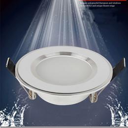 Wholesale Waterproof Led Switch - Wholesale- 1pcs Dimmable Waterproof LED Downlight 220V 7W 9W 12W 15W 18W LED Bulb Light Recessed LED Spot Light For Bathroom