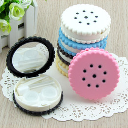 Wholesale Cheap Contact Lens Cases - Cosmetic Contact Lenses Box Muti-Colors Contact Lens Case Contacts Lens Cheap Discount Contact Eyes Lenses