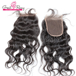 Wholesale Cheap Human Lace Front Closure - 7A Cheap Peruvian Virgin Hair Lace Top Closures Body Wave Lace Closure Hair Pieces 4x4 Bleached Knots Free Shipping Human Lace Front Closure