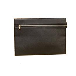 Wholesale Bag File Briefcase - Wholesale- New male briefcase commercial A4 file bags envelope bag for messenger handbags black handbag