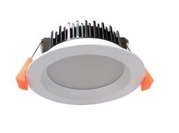 Wholesale Downlight Ip44 - white trim 13W IP44 dimmable led downlight with 90mm cutout 3000K 4000K 5000K SMD5730 recessed