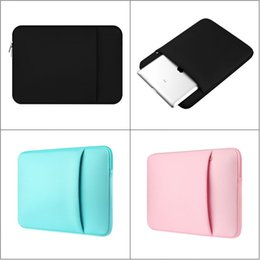 """Wholesale Notebook Pc Bags - Laptop Sleeve Notebook Case Soft inside Cotton Fabric Protective Bag For MacBook Air Pro 11"""" 12'' 13"""" 15"""" 15.6"""" HP Dell PC High Quality"""
