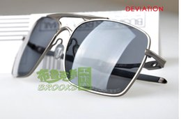 Wholesale Polished Sunglasses - New In Box Deviation Polished POLLARIZED LENS Top quality Sunglasses Cycling Outdoor Sports bicycle Eyewear for men's