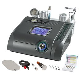 Wholesale Electroporation Device - Shipping free No-Needle Mesotherapy Device Beauty face Lift Import Electroporation Instrument Home RF Skin Beauty Equipment