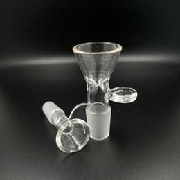2019 schneeflocke Schieben Sie Glasschüsseln Schneeflocken-Filterschüssel mit Wabengitter rund 14mm und 18mm Außengewinde für Glasbongs Wasserpfeifen günstig schneeflocke
