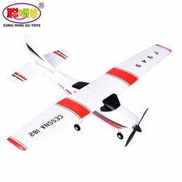 Wholesale Metal Model Planes Remote Control - F949 RC Airplane Fixed Wing Plane Remote Control Toy 2.4G Aircraft Model 3-Channel Outdoor Gliders with Built-in USB Batterty