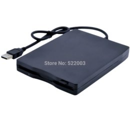"Wholesale Floppy Diskettes - 2014 New High quality Slim External Portable 3.5"" USB 1.44MB Floppy Disk Diskette Drive for PC Laptop Notebook"